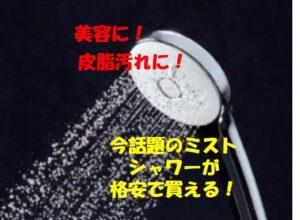 長野市の皆さまに朗報!今、取替用シャワーヘッドが熱い!ミラブルプラス、リファファインバブルに続きLIXILからもウルトラファインバブルのエコアクアシャワーSPAが新発売!